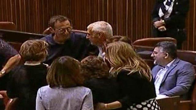 Dov Henin sponsored bill (Photo: Knesset Channel)