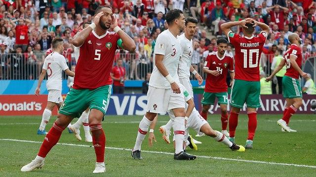 המרוקנים מאוכזבים (צילום: רויטרס)