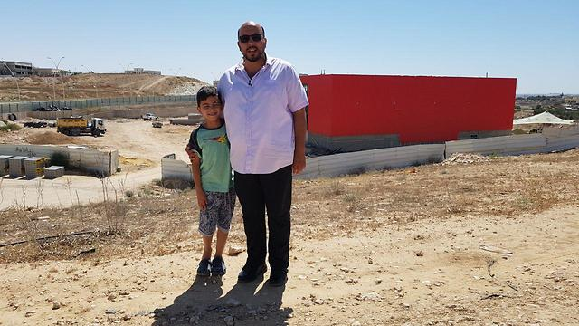 סאלם ובנו (צילום: רועי עידן)