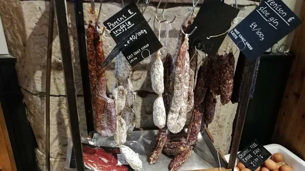 גבינות איכותיות ב-I.J Mellis (צילום: יוני סתת)