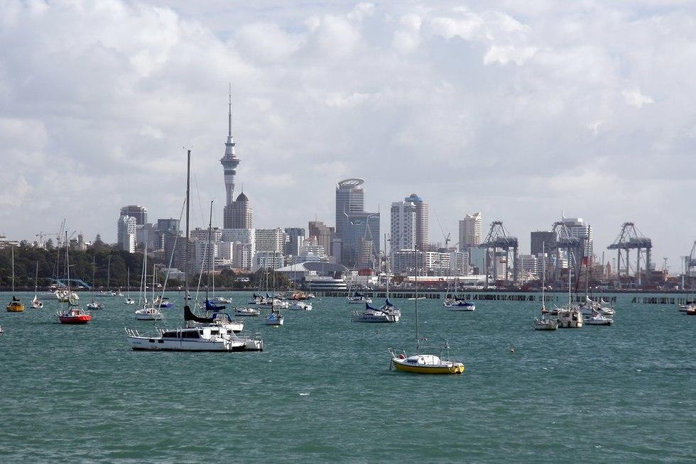 אוקלנד ניו זילנד (צילום: shutterstock)