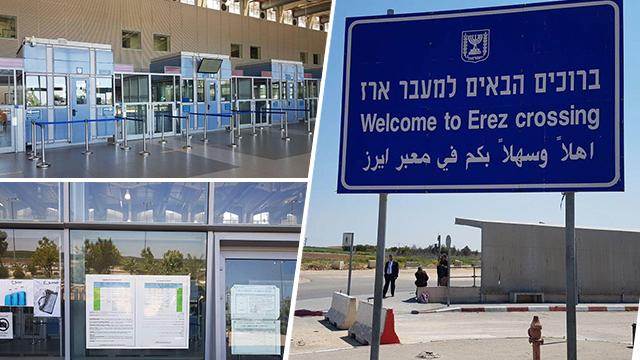 Erez border crossing (Photos: Yoav Zitun)