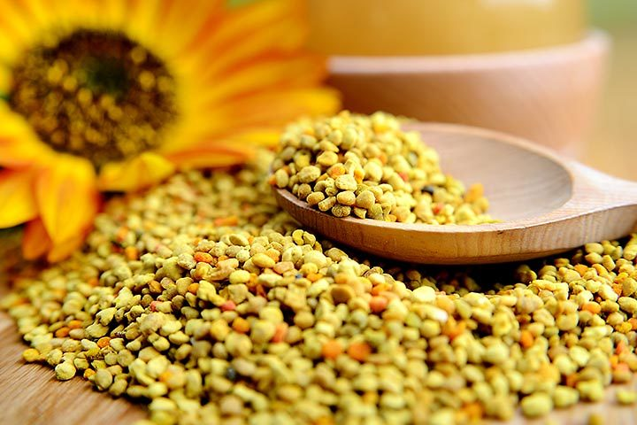 עשיר בוויטמינים ומינרלים והכי חשוב - מצטלם יפה! פולני דבורים (  )