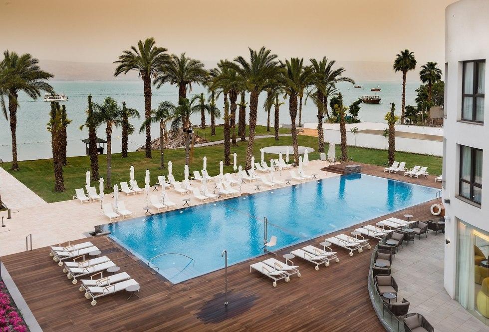 מלון יו בוטיק כינרת (צילום: שירי הדר)