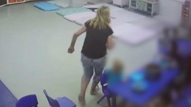"""Видео насилия в детском саду """"Ган маток"""""""
