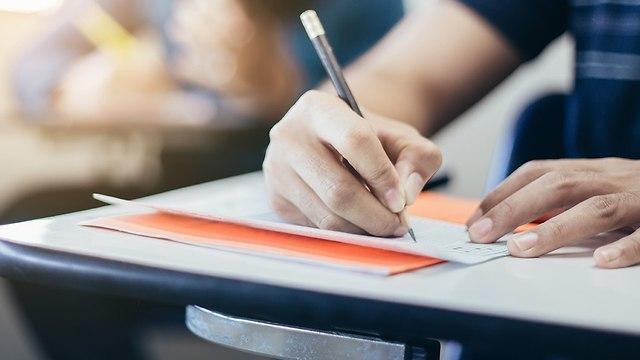 מבחן בכיתה (צילום: shutterstock)