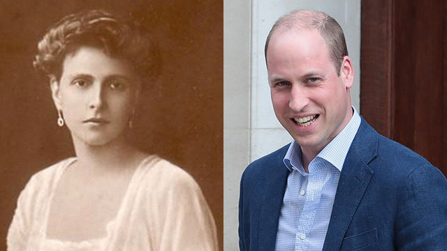 Princess Alice and William (Photo: AP)