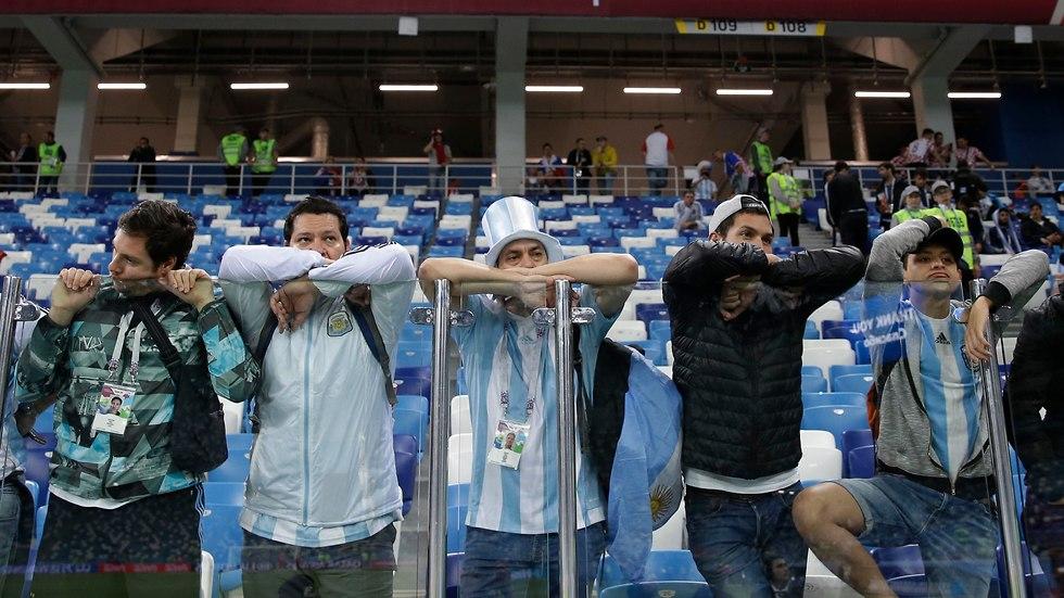 Болельщики Аргентины в шоке. Фото: АР