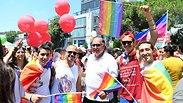 אלפים במצעד הגאווה בחיפה: