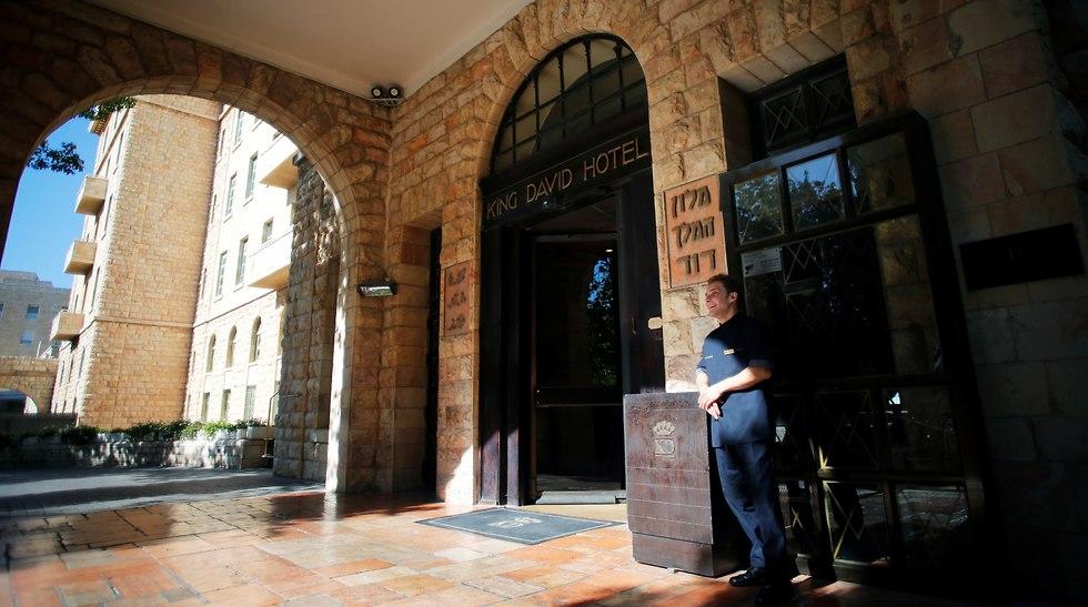 King David Hotel in Jerusalem (Photo: Reuters)