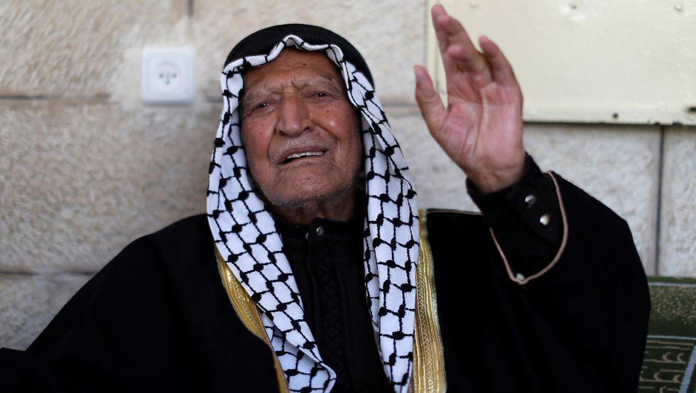 Abdel Fatah Shijaiya, 96 (Photo: Reuters)