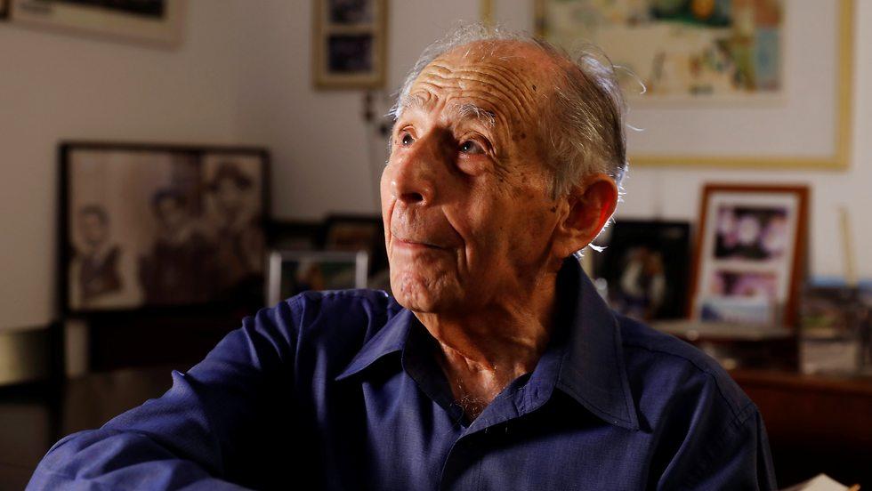 Shlomo Hillel, 95, a former Israeli diplomat and minister (Photo: Reuters)