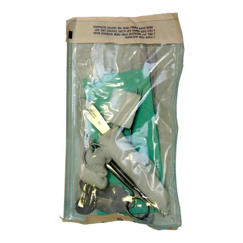 Стерильный набор для обрезания. Фото: shutterstock
