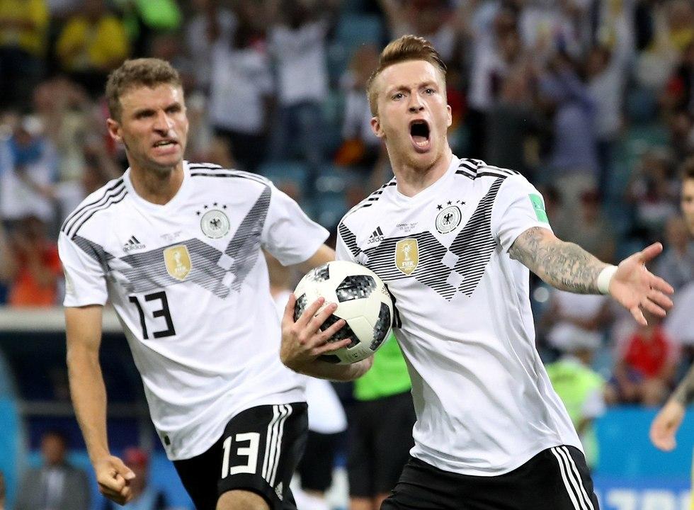 מרקו רויס נבחרת גרמניה (צילום: רויטרס)