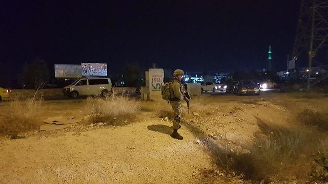 פיגוע דריסה סמוך לכפר הערבי חוסאן בחטמ