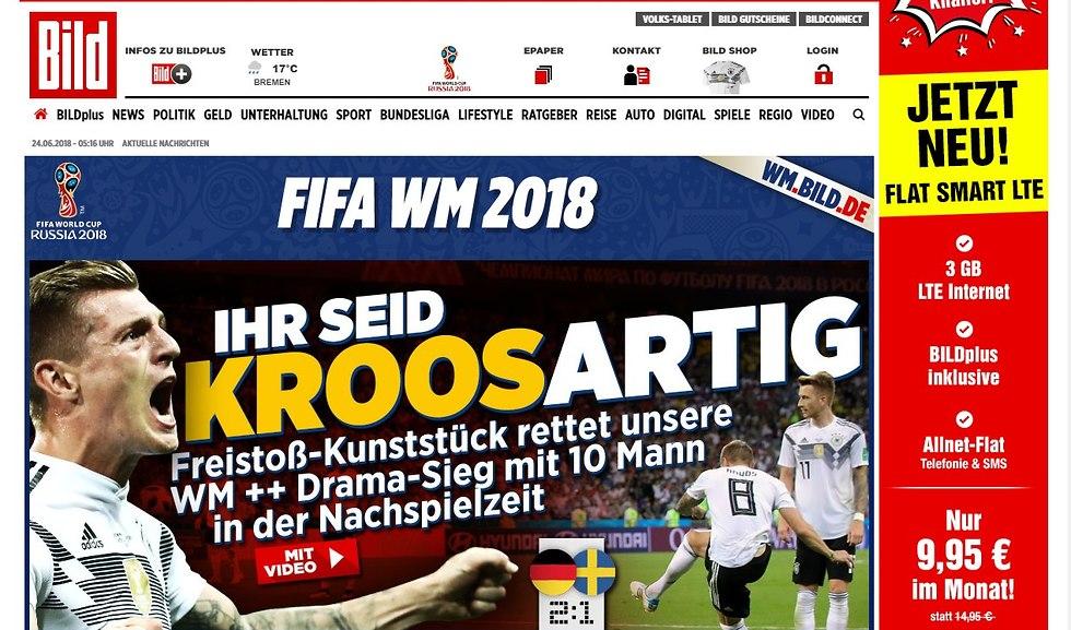 בילד כותרת גרמניה שבדיה ()