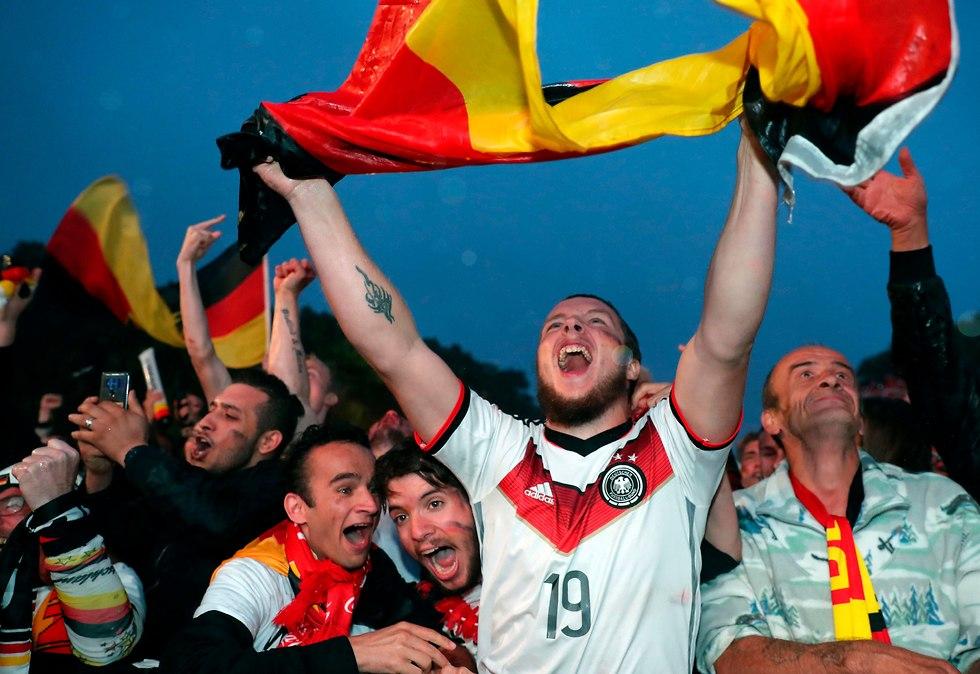 נבחרת גרמניה (צילום: AP)
