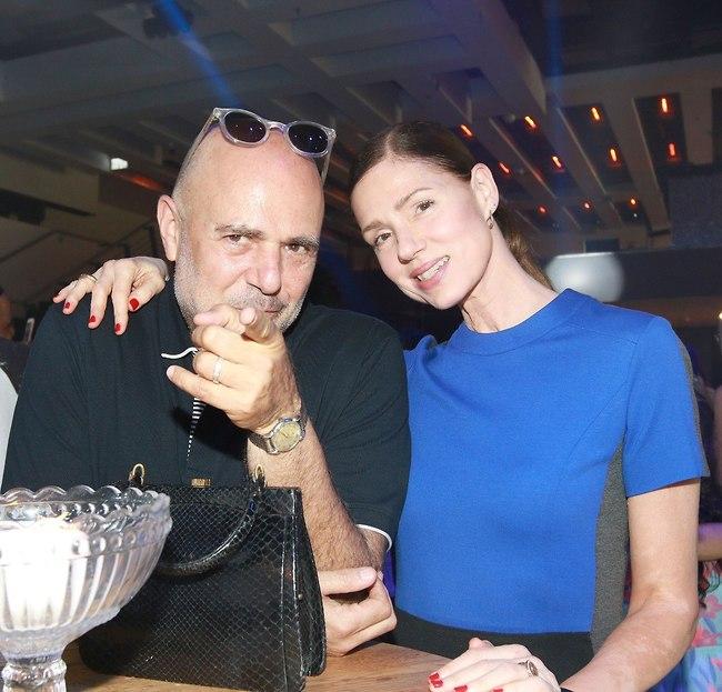 יציבים ומאוהבים. רונית יודקביץ' ובן הזוג (צילום: ענת מוסברג)