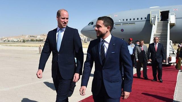 Принц Уильям и наследный принц Хусейн. Фото: MCT