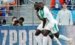 סאדיו מאנה נבחרת סנגל (צילום: AP)