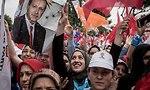 עצרת בחירות של רג'פ טאיפ ארדואן נשיא טורקיה ב איסטנבול (צילום: gettyimages)