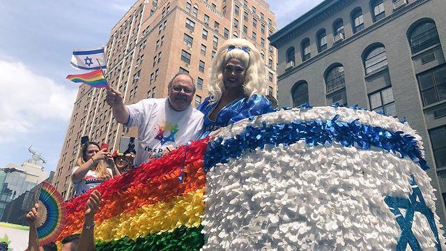 מצעד הגאווה בניו יורק (צילום: מייקל אלכסנדר)