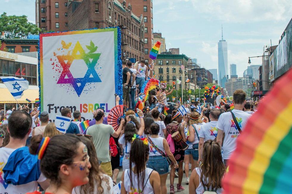 מצעד הגאווה בניו יורק (צילום: אלקסי רוזנפלד)