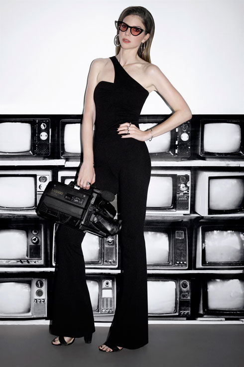 """""""אני 11 שנה בטלוויזיה ויש שינוי. ה-METOO# והשוויון חודרים גם לאיך שאישה אמורה להיראות, ואיך מנחה בפריים טיים צריכה להיראות, ובאיזה מידות"""" (צילום: דניאל קמינסקי)"""