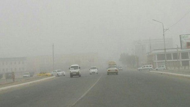 זיהום אוויר חריג בטהרן ()