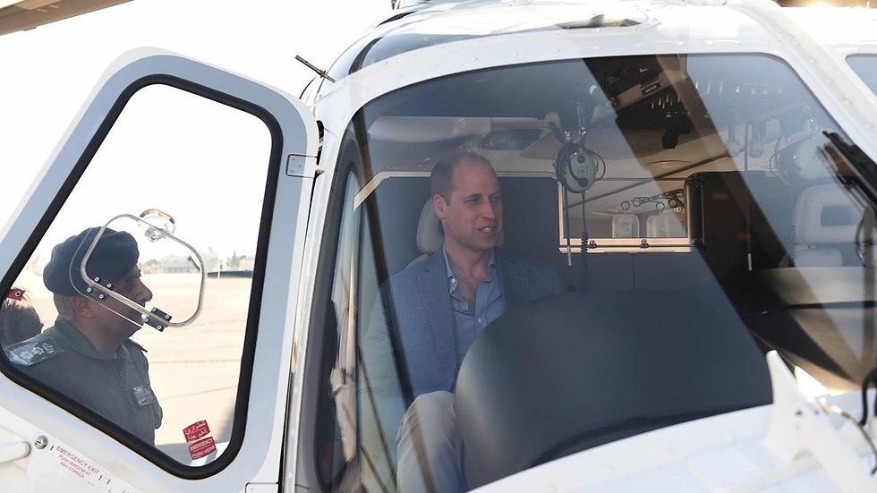 הנסיך וויליאם  בירדן (צילום: gettyimages)