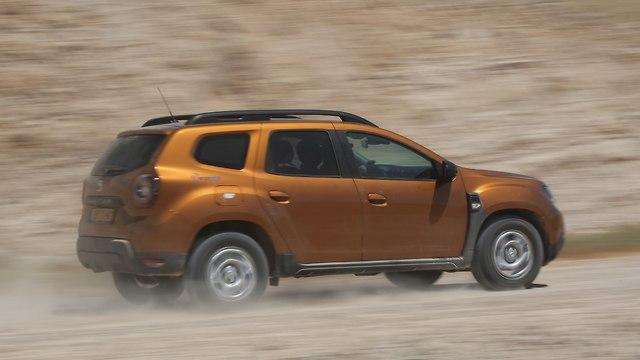 דאצ'יה דאסטר 4WD (צילום: רונן טופלברג)