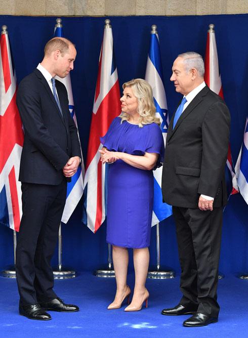 ביקור הנסיך במעון ראש הממשלה. לחצו על התמונה לכתבה המלאה (צילום: Tim Rooke/GettyimagesIL)