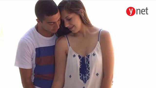 הבת  טרייסי קאדיס יחד עם בן הזוג אמיר מרמש (מתוך עמוד הפייסבוק של