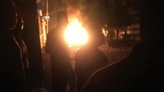 פיצוץ רכב במחנה נוסיראת עזה ()