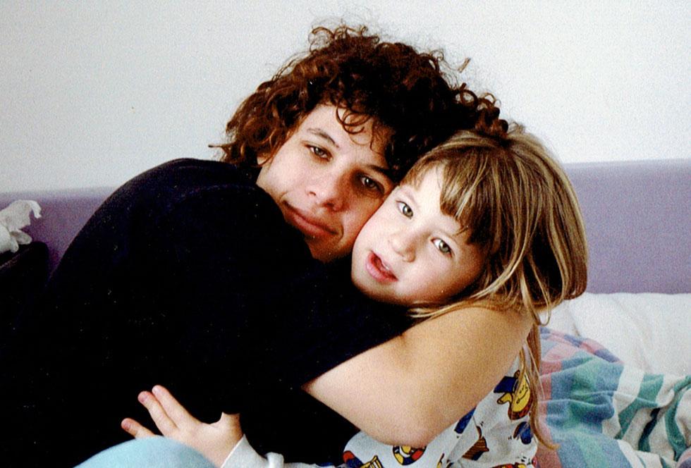 """כשרוני הייתה בת שש. """"היא נזקקה לדמות אב"""" (צילום: אלבום פרטי)"""