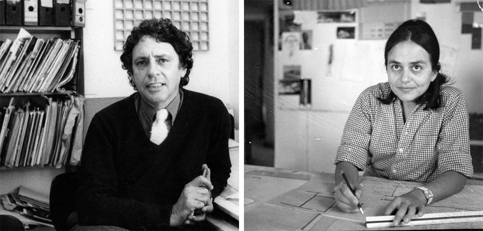 תמר דה שליט הייתה בת לאחת המשפחות המייסדות של העיר הרצליה. ארטור גולדרייך נולד ביוהנסבורג וברח ממנה לישראל ב-1963. הם נפגשו לראשונה באנגליה, שם למדה דה שליט עיצוב ואמנות (אוסף גולדרייך–דה-שליט, ארכיון אדריכלות ישראל)