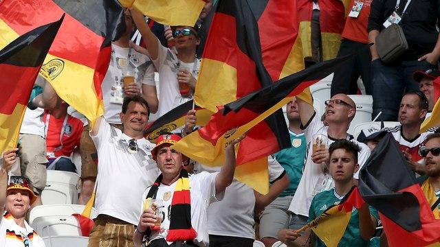 Болельщики сборной Германии. Фото: AP
