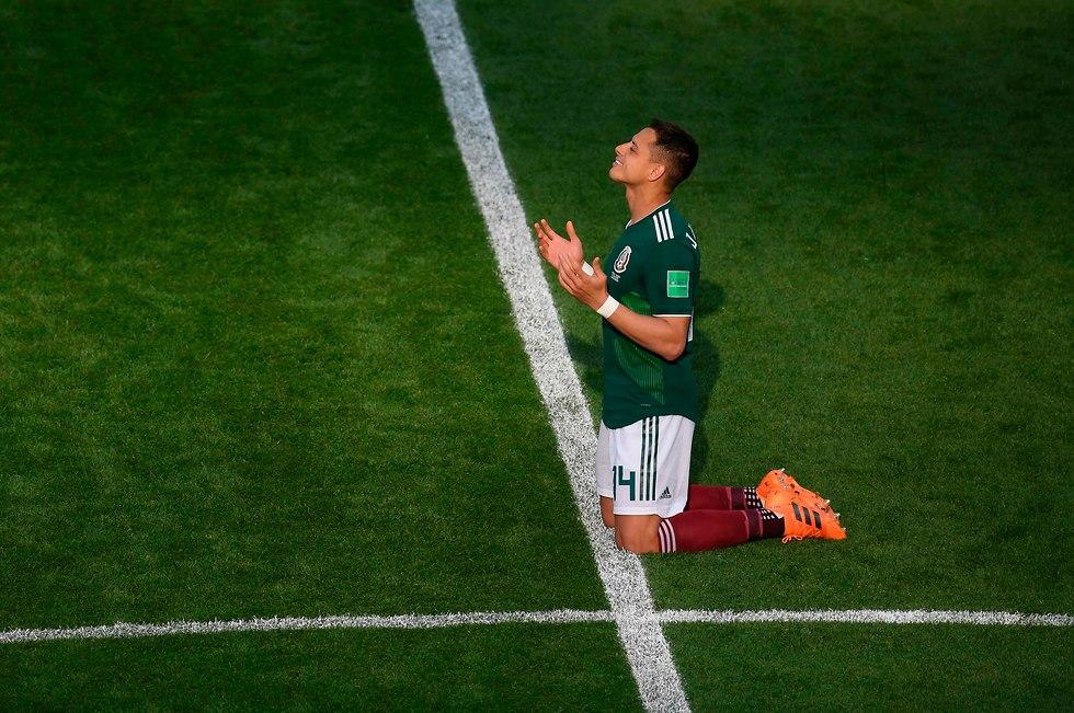 Хавьер Эрнандес (Мексика). Фото: AFP