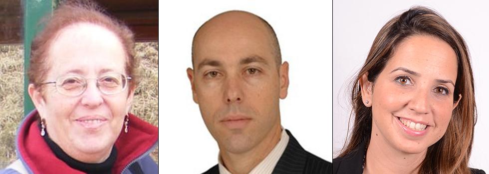 מימין לשמאל: יעל באבקום, יפתח יופה וסבינה מירוצ'ניקוב (צילום: בועז פורמן, יח