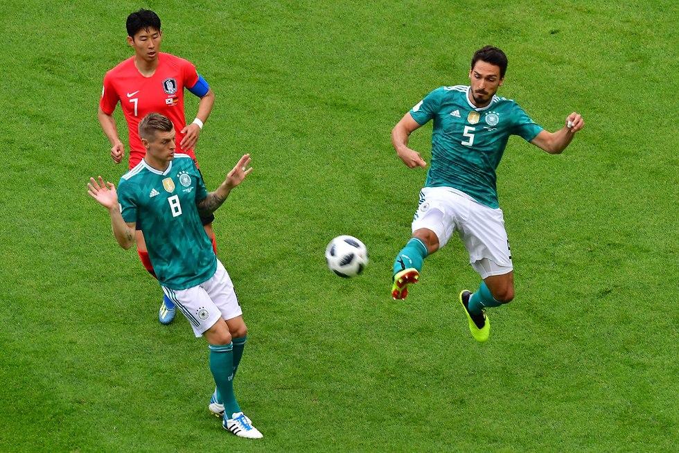 Германия - Южная Корея. Фото: AFP