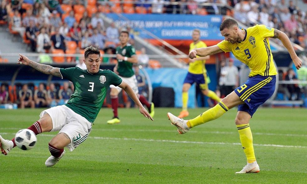 Мексика - Швеция. Фото: AP