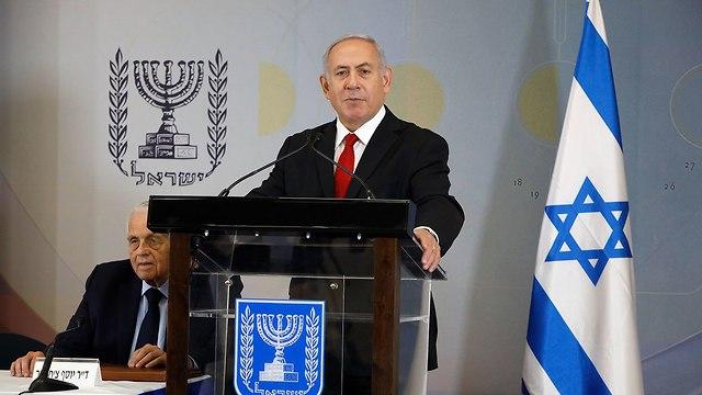PM Netanyahu (Photo: Shaul Golan)