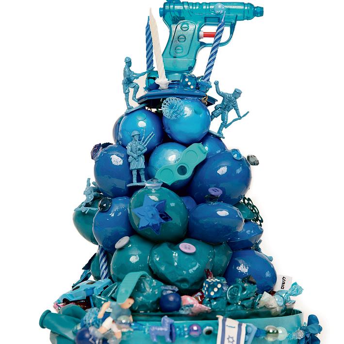 """""""עוגה כחולה"""", גיל ריבה"""