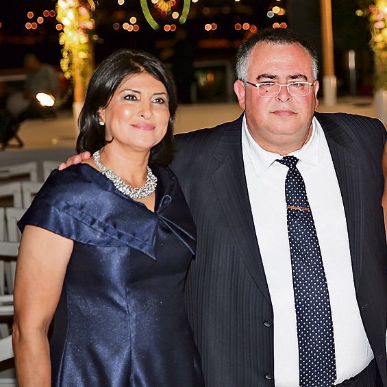 """דוד ביטן עם אשתו, חגית, שנחקרה  גם היא. ביטן: """"אלו היו ימים קשים"""""""
