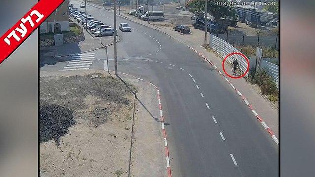 פענוח רצח בוריס בוטרשוילי (צילום: מוקד מצלמות עיריית לוד)