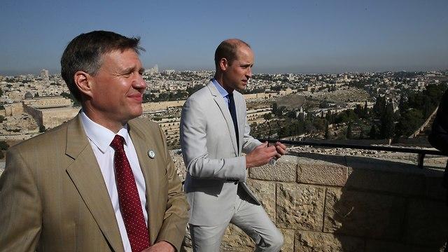 Принц Уильям осматривает Старый город в Иерусалиме. Фото: Амит Шааби (Photo: Amit Shabi)