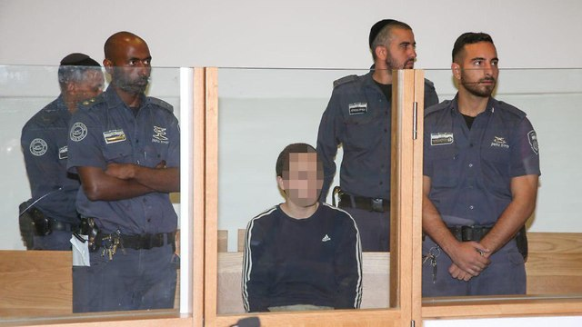 The Ashkelon hacker in court, Thursday  (Photo: Yariv Katz)