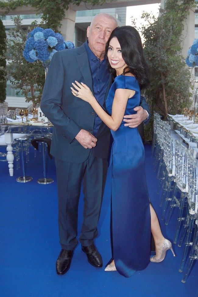 חתונה על הירח זה אפשרי? ניקול ראידמן ומיכאל צ'רנוי (צילום: ענת מוסברג)
