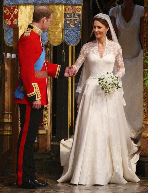 באיזה מקום נמצאת קייט מידלטון ברשימת שמלות הכלה היקרות בעולם? לחצו על התמונה כדי לגלות (צילום: Dave Thompson/GettyimagesIL)