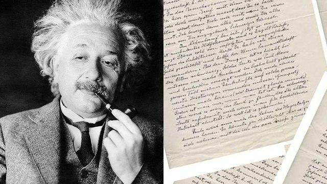 מכתבים אלברט איינשטיין 1933 1938 ( צילום: Pascal Le Segretain/GettyImages IL , Nate D. Sanders Auctions)